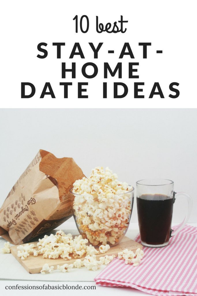 Stay at home dating ideas
