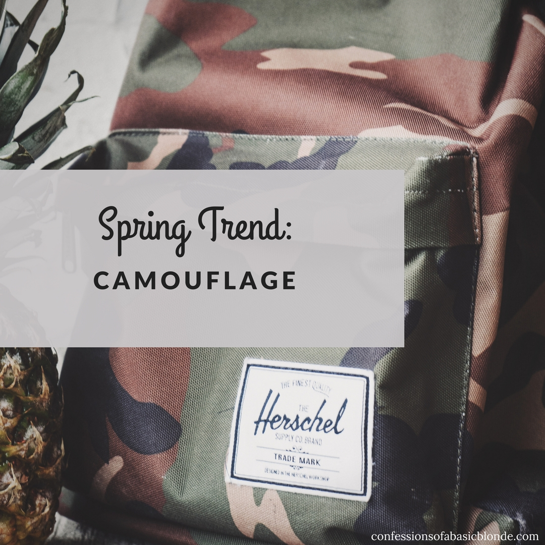 Spring Trend: Camouflage