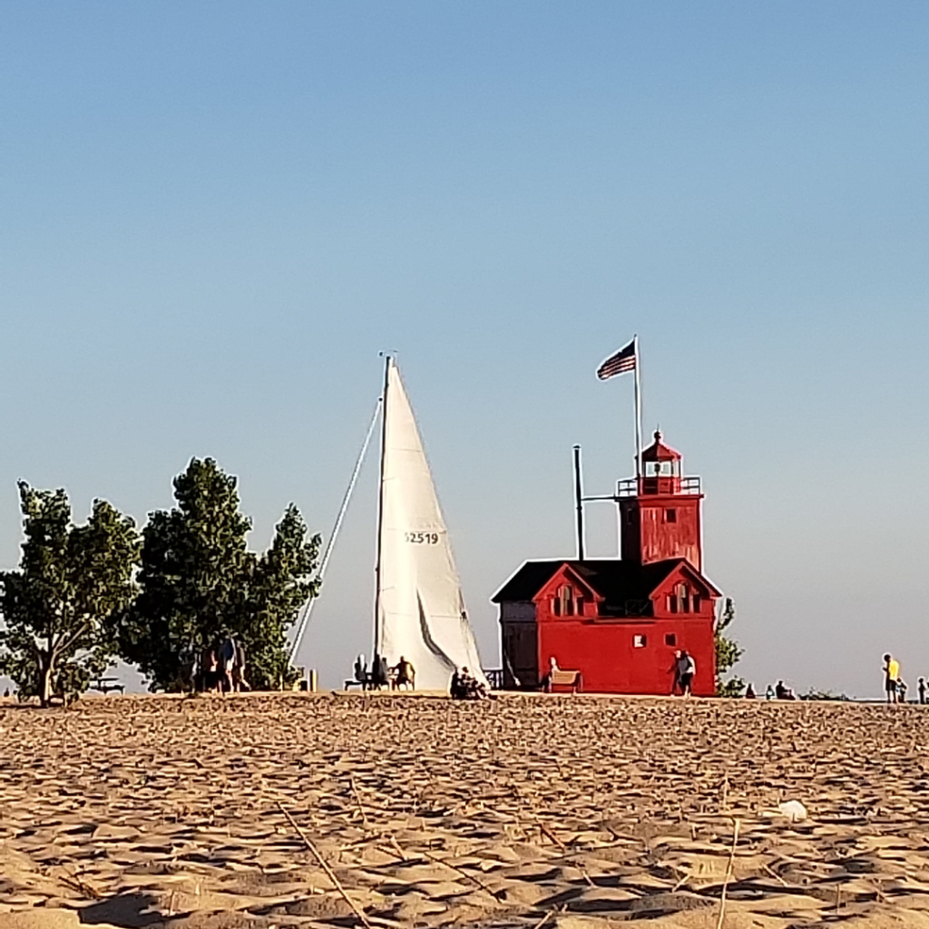 Big Red at Holland State Park